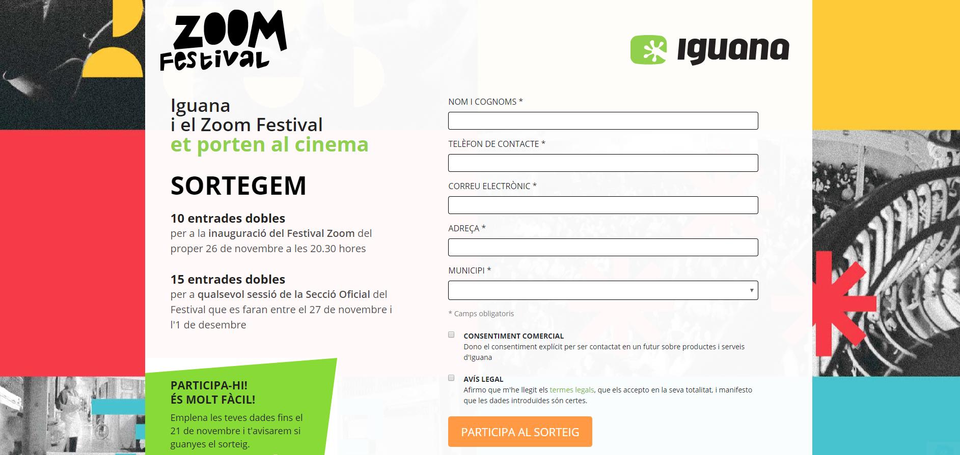 ¿Quieres Ganar Entradas Para El Zoom Festival?