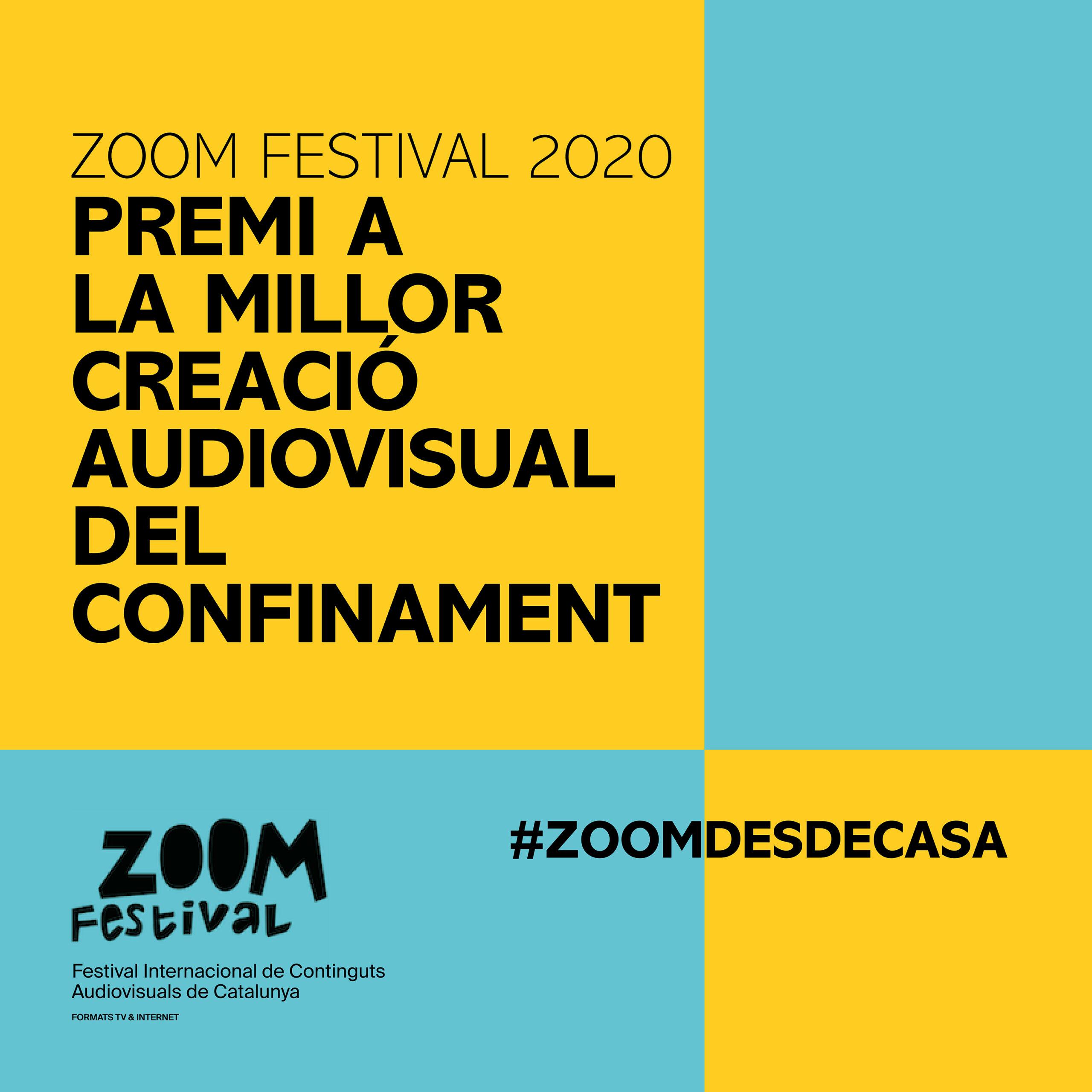 """Premis #ZoomdesdeCasa I """"Confitats En Curt"""" D'Òmnium Cultural"""
