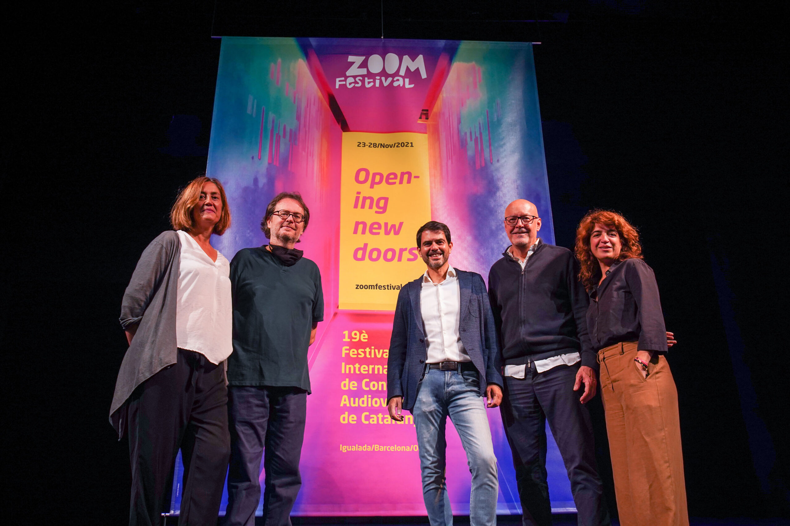 THE INTERNATIONAL FESTIVAL OF AUDIOVISUAL CONTENT OF CATALONIA WILL BE HELD FROM THE 23RD TO THE 28TH OF NOVEMBER