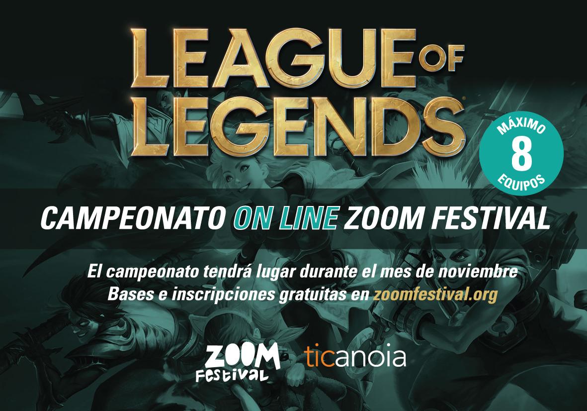 A Punto El Primer Campeonato Del Videojuego League Of Legends Del Zoom